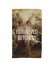 I Survived Bitches Hand Towel thumbnail