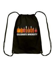 Bourbon - Celebrate diversity Drawstring Bag thumbnail