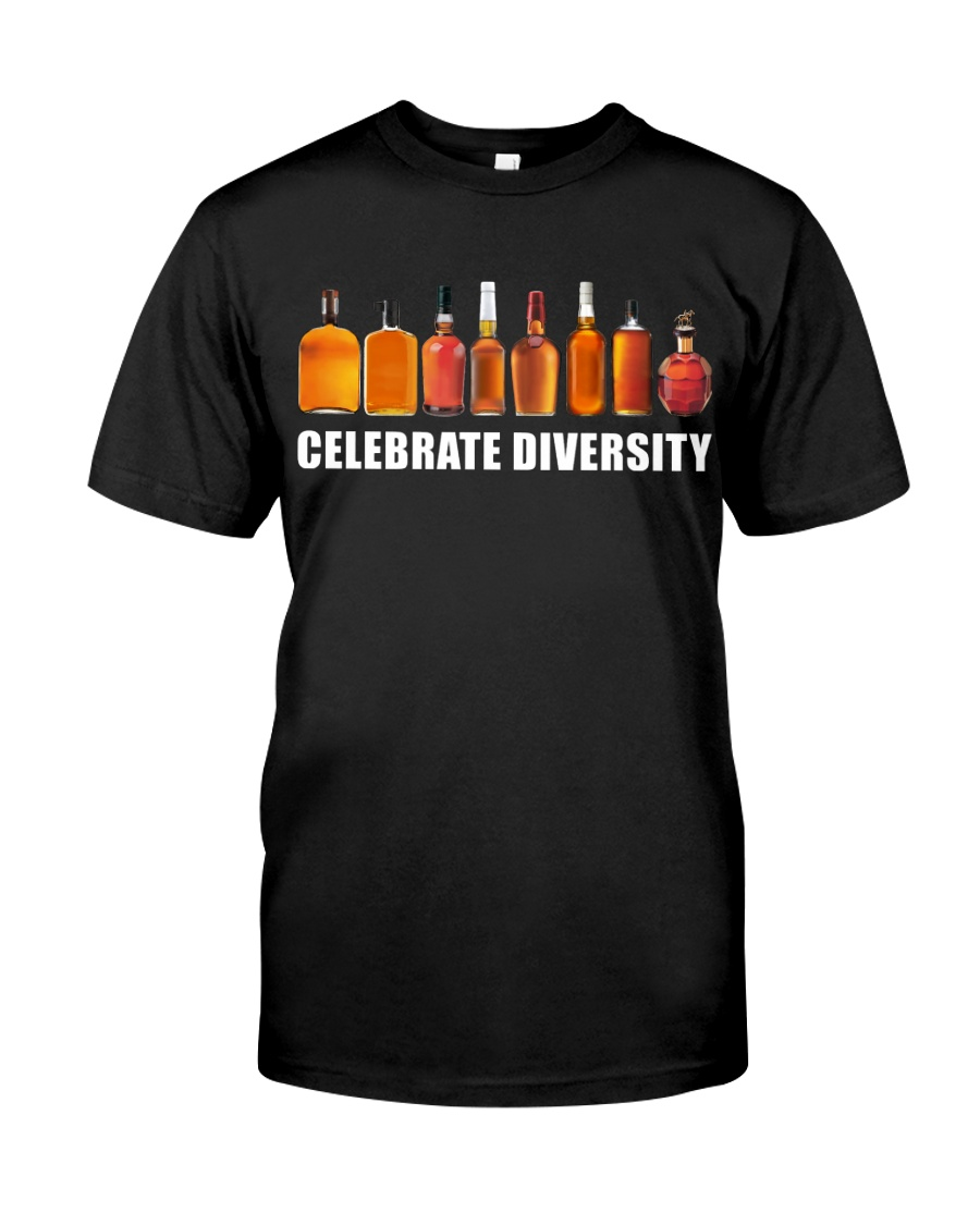 Bourbon - Celebrate diversity Classic T-Shirt
