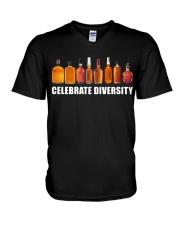 Bourbon - Celebrate diversity V-Neck T-Shirt thumbnail