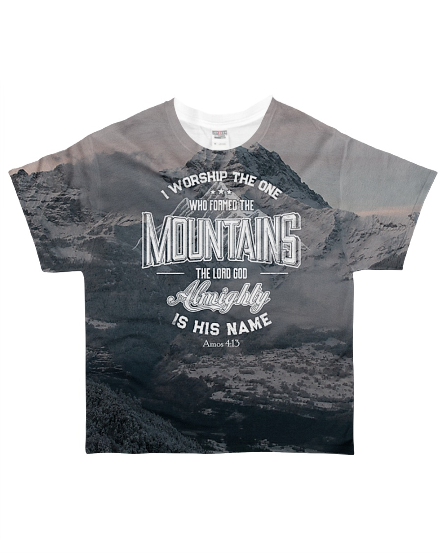 I worship the one  All-over T-Shirt