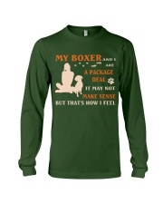 My Boxer and I Are Package Deal Long Sleeve Tee thumbnail