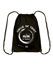 Circle of trust and you Drawstring Bag thumbnail