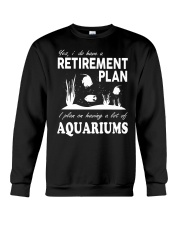 Retirement Plan Crewneck Sweatshirt thumbnail