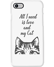 All I need is love and my cat - Classic Phone Case thumbnail