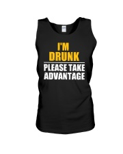 I'm Drunk - Please take advantage Unisex Tank thumbnail
