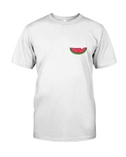 Happy Watermelon Shirt Premium Fit Mens Tee front