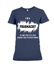TEE PHARMACIST Premium Fit Ladies Tee front