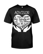 TEE SHIRT ADVISOR Classic T-Shirt thumbnail