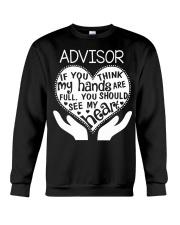 TEE SHIRT ADVISOR Crewneck Sweatshirt thumbnail