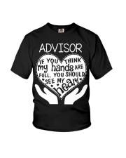 TEE SHIRT ADVISOR Youth T-Shirt thumbnail