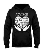 TEE SHIRT ADVISOR Hooded Sweatshirt thumbnail