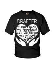 TEE SHIRT DRAFTER Youth T-Shirt thumbnail