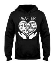TEE SHIRT DRAFTER Hooded Sweatshirt thumbnail