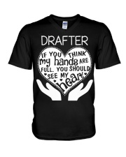 TEE SHIRT DRAFTER V-Neck T-Shirt thumbnail