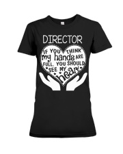 TEE SHIRT DIRECTOR Premium Fit Ladies Tee thumbnail