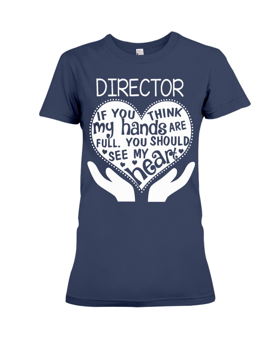 TEE SHIRT DIRECTOR Premium Fit Ladies Tee