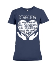 TEE SHIRT DIRECTOR Premium Fit Ladies Tee front