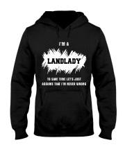TEE LANDLADY Hooded Sweatshirt thumbnail