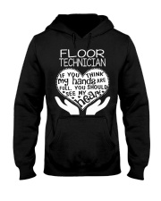 TEE SHIRT FLOOR TECHNICIAN Hooded Sweatshirt thumbnail