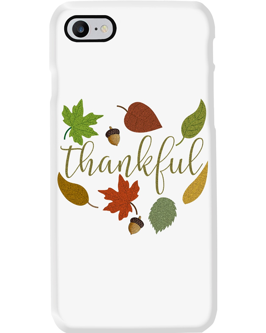 Grateful Thankful Blessed Shirt Thanksgiving Day  Phone Case