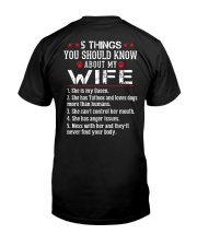Tattooed Wife  - Loves Dogs  Classic T-Shirt thumbnail