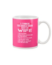 Tattooed Wife  - Loves Dogs  Mug thumbnail