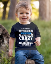 BEST TATTOOED MIMI Youth T-Shirt lifestyle-youth-tshirt-front-4
