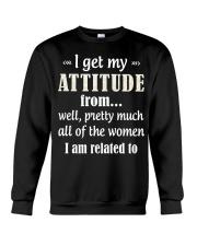 I'm Related To Crewneck Sweatshirt thumbnail