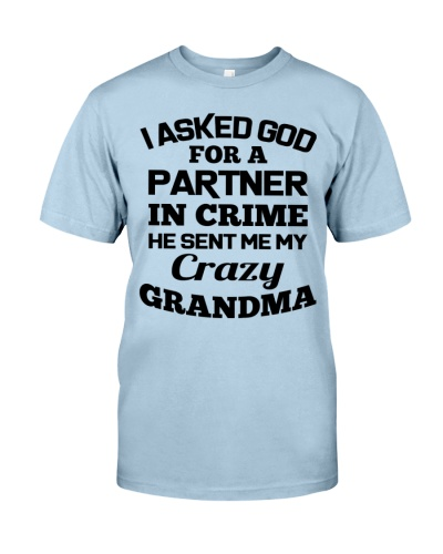 Partner In Crime Crazy Grandma