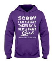 SEXY - CRAZY GIRL Hooded Sweatshirt thumbnail