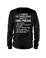 Five Thing My Girlfriend Long Sleeve Tee thumbnail
