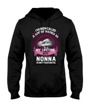 NONNA IS MY FAROVITE Hooded Sweatshirt front