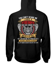 You Can't Scare Me Hooded Sweatshirt back