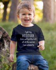 I GET MY ATTITUDE Youth T-Shirt lifestyle-youth-tshirt-front-4