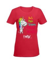 Rock Paper Scissos Ladies T-Shirt women-premium-crewneck-shirt-front