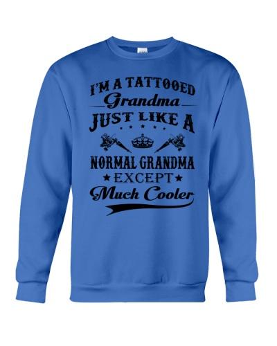 Tattooed Grandma - Much Cooler
