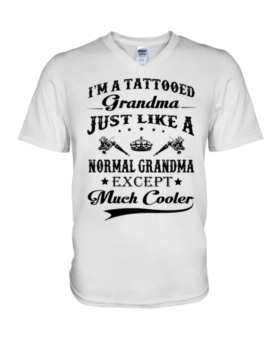 Tattooed Grandma - Much Cooler