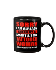 I LOVE CRAZY TATTOOED GIRL Mug tile
