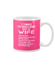 Wife Loves Dogs - Tattoos Mug thumbnail