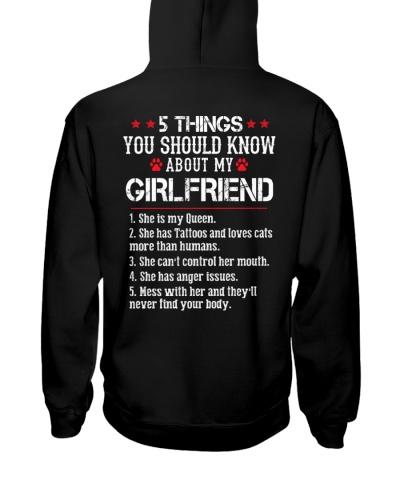 Girlfriend - Has tattoos - Loves Cats