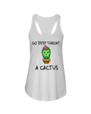 Go Deep Throat A Cactus Ladies Flowy Tank thumbnail
