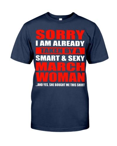I'm Already  Taken By A March Woman