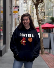 DON'T BE Hooded Sweatshirt lifestyle-unisex-hoodie-front-2