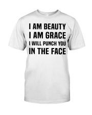 I'M BEAUTY I'M GRACE Classic T-Shirt thumbnail