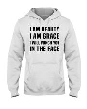 I'M BEAUTY I'M GRACE Hooded Sweatshirt thumbnail