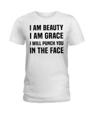 I'M BEAUTY I'M GRACE Ladies T-Shirt thumbnail