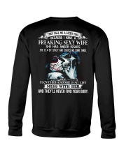 Freaking Sexy Wife Crewneck Sweatshirt thumbnail