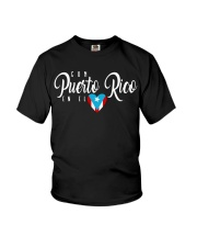Con Puerto Rico en el corazon  Youth T-Shirt thumbnail