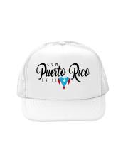 Con Puerto Rico en el corazon  Trucker Hat thumbnail